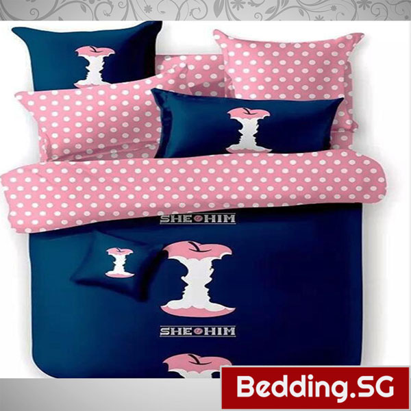 Fitted Bedsheets Cute Apple Design Bedding Sg