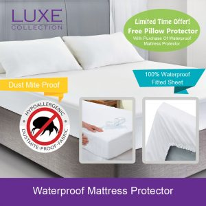 Bedsheets | Waterproof Mattress Protector | Pillow Protector | Bedding SG