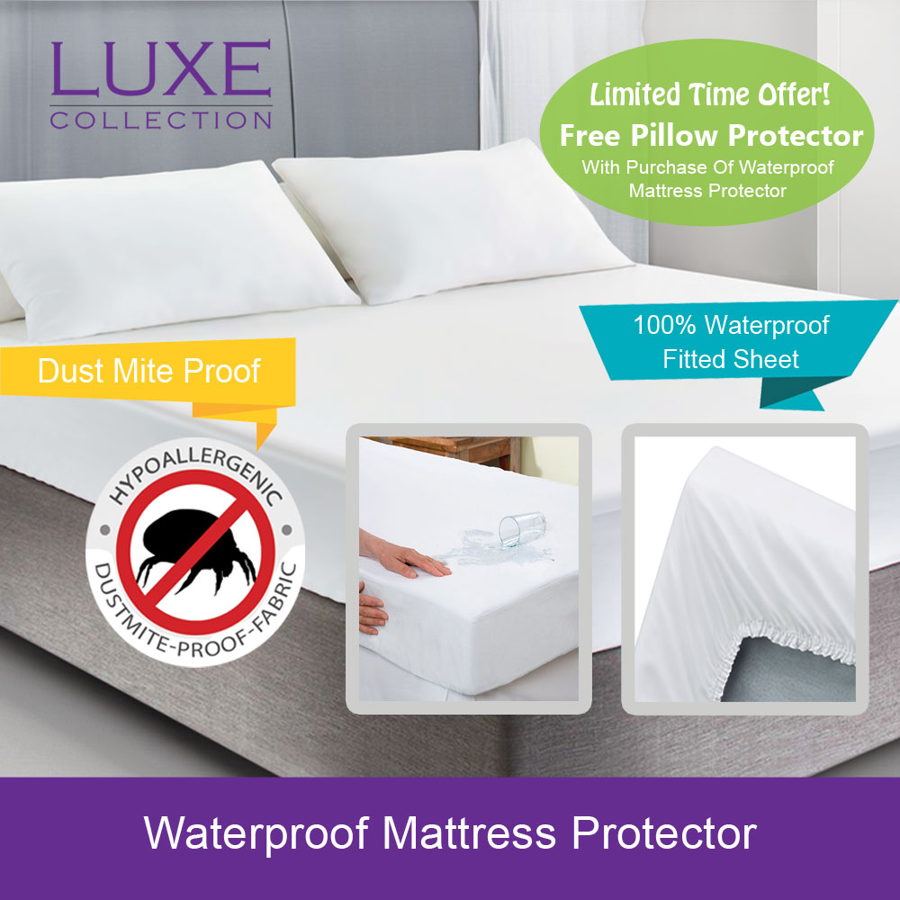 Protect A Bed King Single Mattress Protector