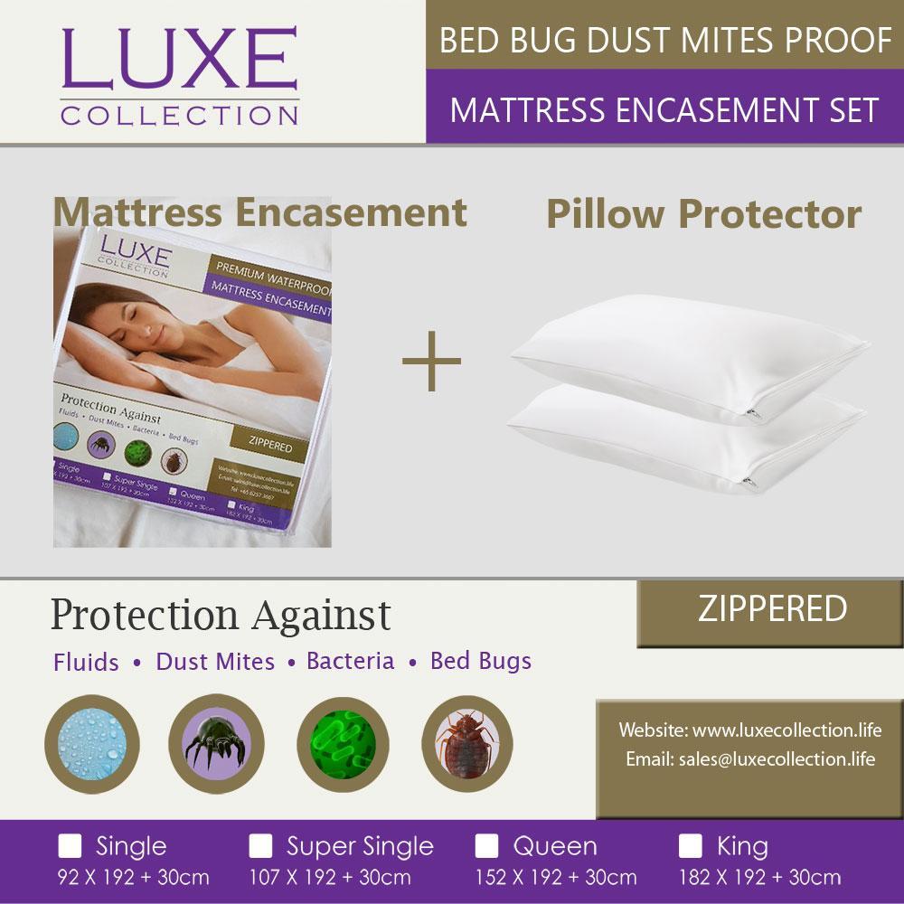 Bed Bug Mattress Protector Set