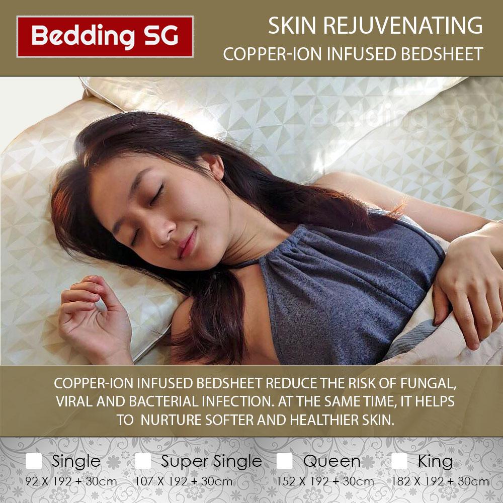 Copper Bedsheet Skin Rejuvenating Copper Ion Bedsheet