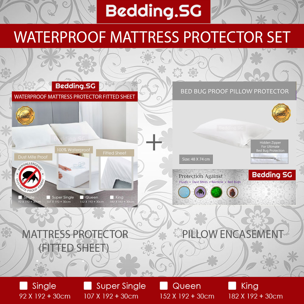 Waterproof Mattress Protector Set Mattress Protector And